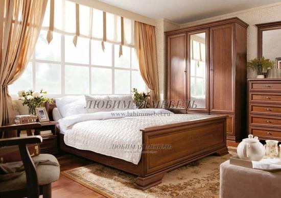 Спальня Кентаки (Kentaki) каштан (фото)