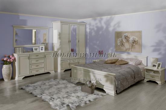 Спальня Кентаки (Kentaki) белый