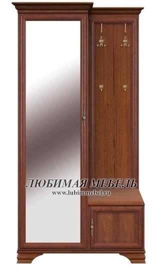 Шкаф с вешалкой Кентаки (левый) (фото)