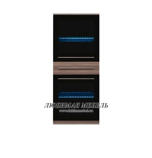 Шкаф настенный Лайк SFW2W1S_14_6 с подсветкой (фото)