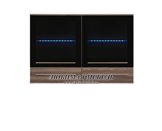 Шкаф настенный Лайк SFW2W2S_8_12 с подсветкой (фото)
