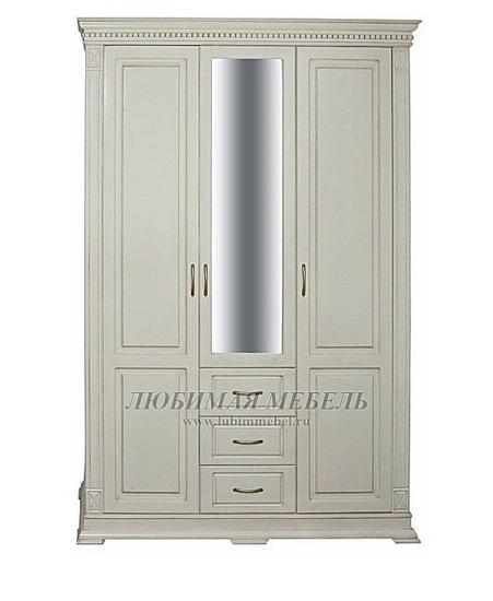 Шкаф трехдверный Верди (фото)