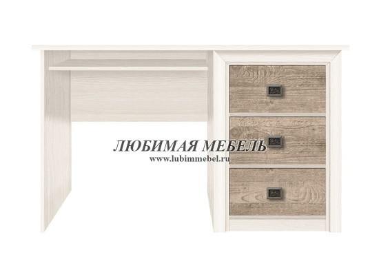 Стол письменный Коен BIU/130 (фото, BIU/130 ясень снежный/сосна натуральная)