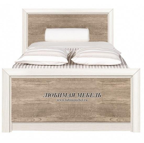 Кровать Коен LOZ90 (фото, LOZ90х200 ясень снежный/сосна натуральная)