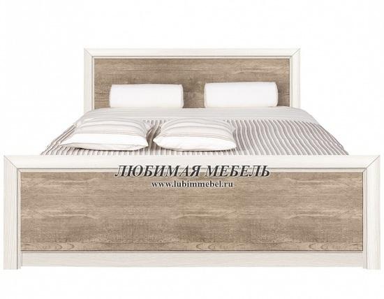 Кровать Коен LOZ140 (фото, LOZ140х200 ясень снежный/сосна натуральная)