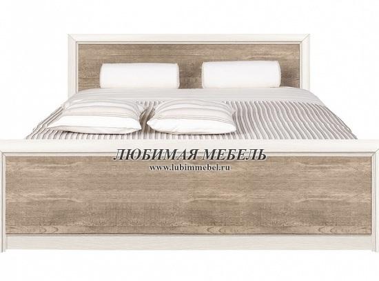 Кровать Коен LOZ160 (фото, LOZ160х200 ясень снежный/сосна натуральная)