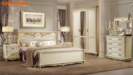 Спальня Алези (Alezi) слоновая кость (фото)
