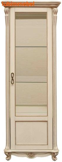 Шкаф с витриной Алези 8 (фото)