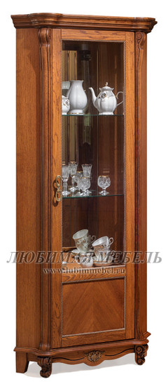 Шкаф с витриной Алези 10 (фото)