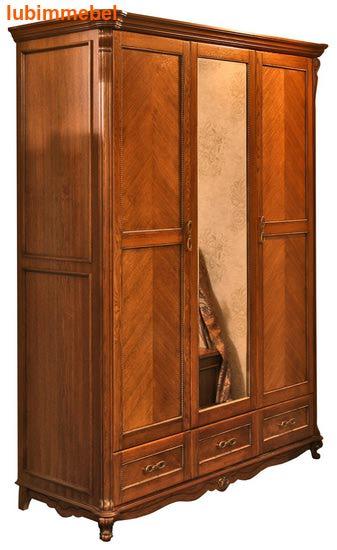 Шкаф 3-х дверный Алези (фото)