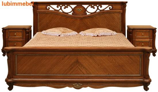 Кровать Алези античная бронза (фото)