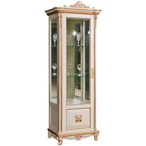 Шкаф с витриной Алези 8 Люкс