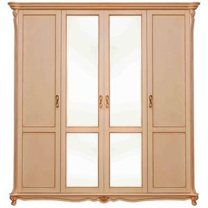 Шкаф 4-х дверный Алези