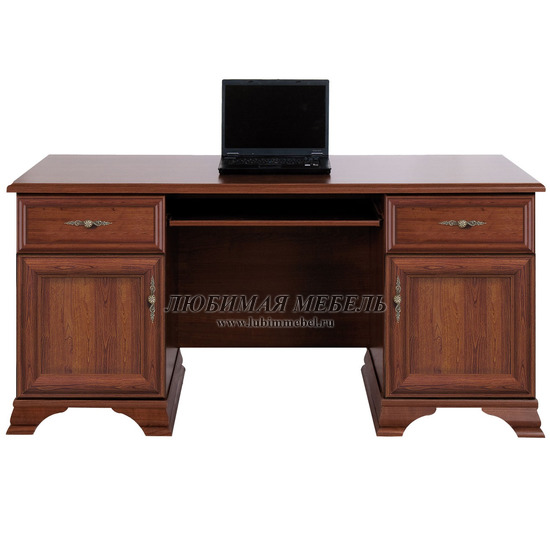 Стол письменный Кентаки каштан (фото)