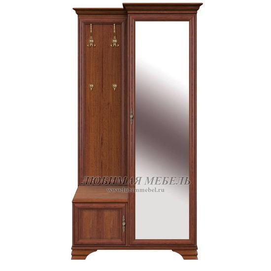 Шкаф с вешалкой Кентаки (правый) каштан (фото)