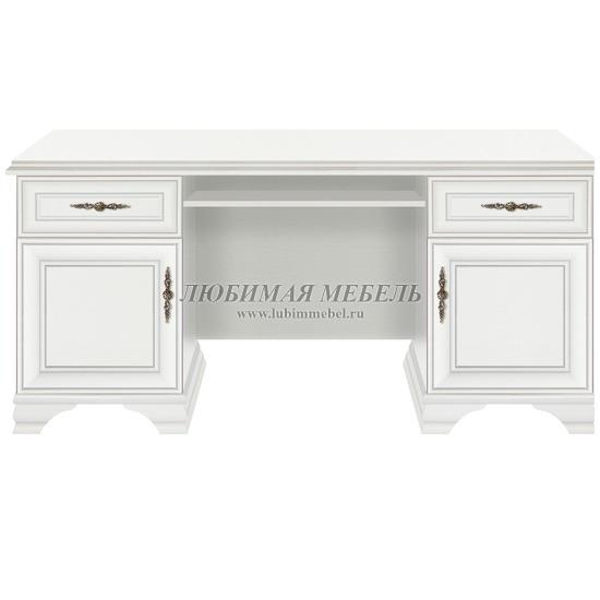 Стол письменный Кентаки белый (фото)