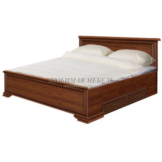 Кровать Кентаки каштан (фото)