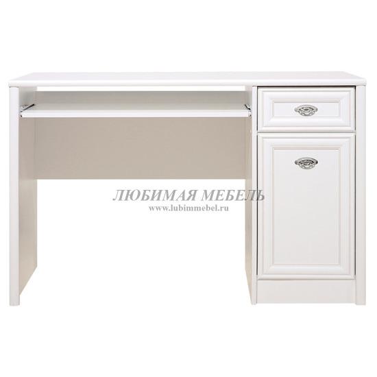Стол письменный Салерно белый (фото)