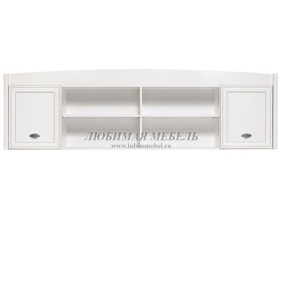 Шкаф настенный Салерно белый (фото)