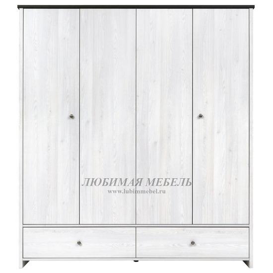 Шкаф платяной Порто джанни/сосна ларико (фото)