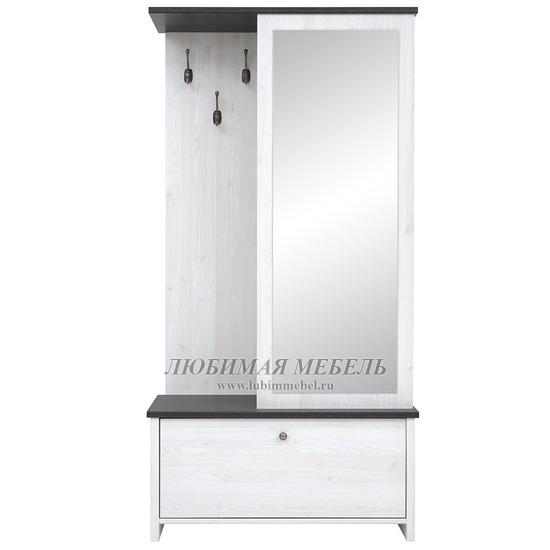Шкаф с вешалкой Порто джанни/сосна ларико (фото)